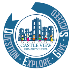 Castle View Primary School - Matlock Logo